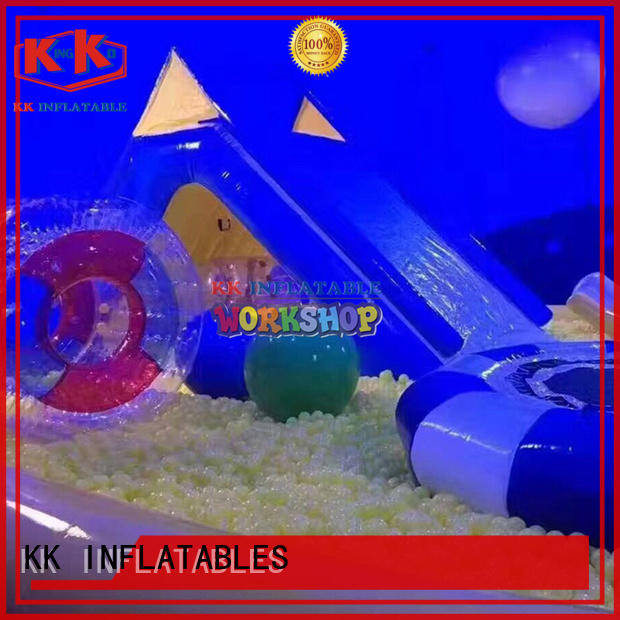 funny inflatable play center manufacturer for amusement park KK INFLATABLE