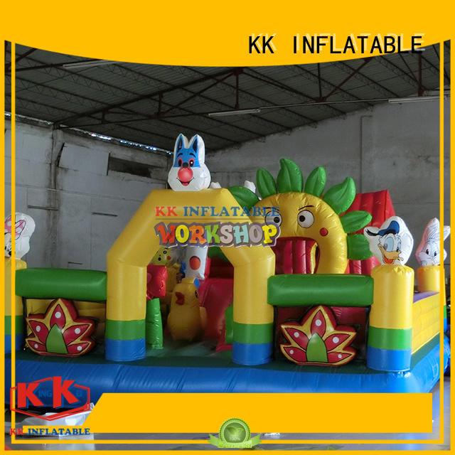 bounce house water slide slide KK INFLATABLE Brand inflatable combo