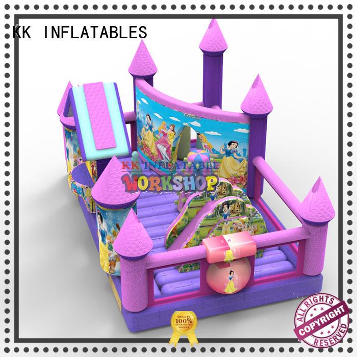 KK INFLATABLE customized jumping castle supplier for amusement park