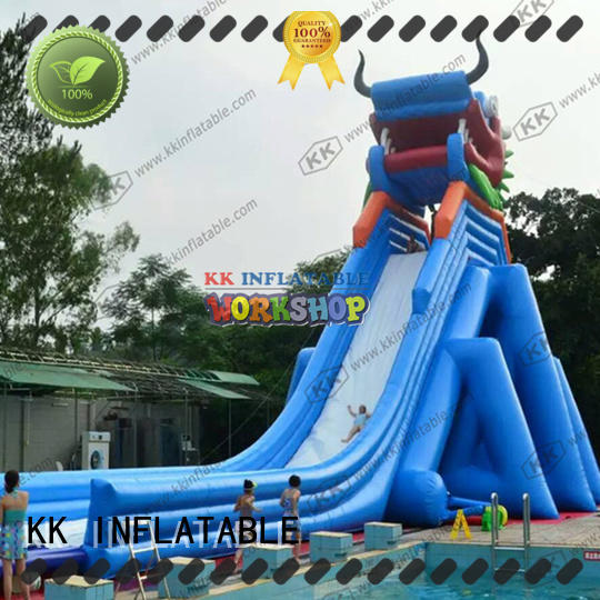 inflatable water parks cartoon for paradise KK INFLATABLE