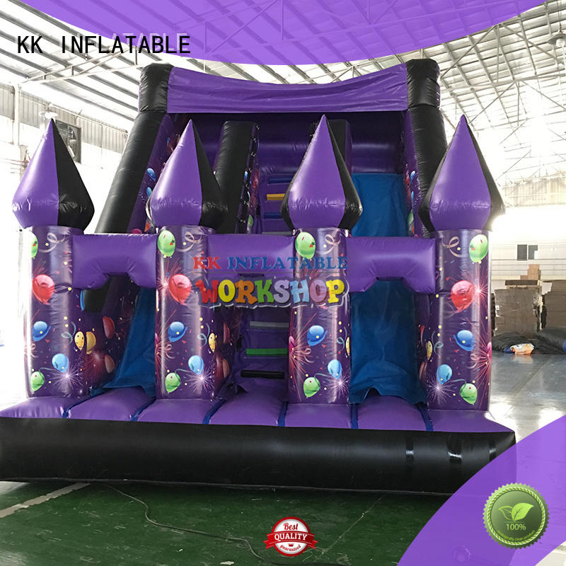 hot selling inflatable slide colorful for paradise