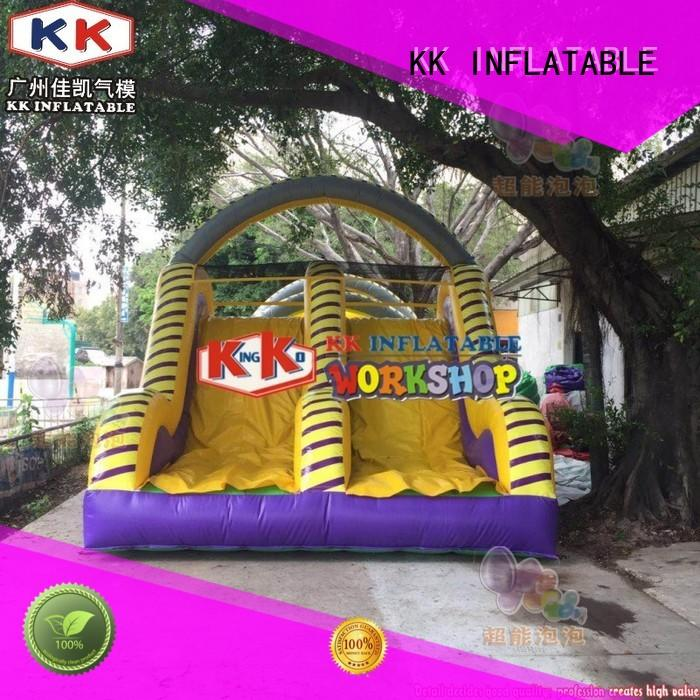 KK INFLATABLE advertising obstacle course for kids supplier for playground