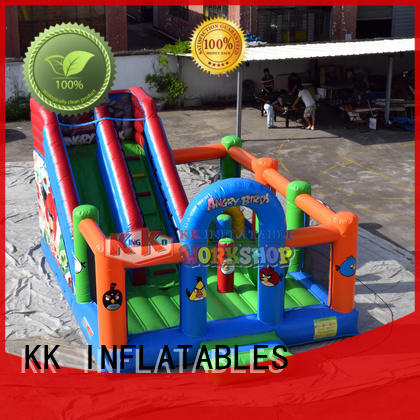 creative inflatable bouncy trampoline supplier for outdoor activity