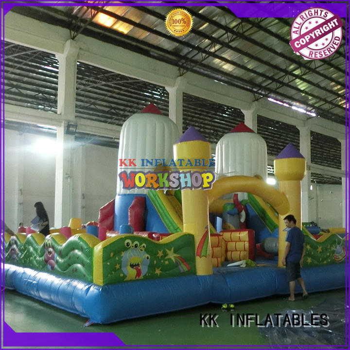 water obstacle course climbing for sport games KK INFLATABLE