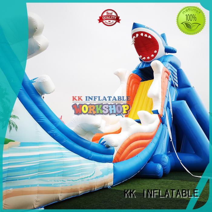 cartoon kids inflatable water park supplier for amusement park KK INFLATABLE