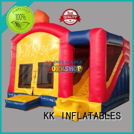 KK INFLATABLE pvc water slide jumper manufacturer for paradise