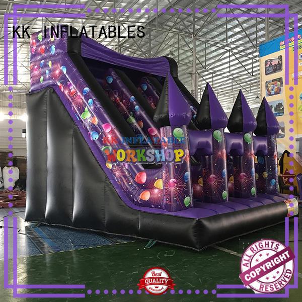 creative kids water slide truck supplier for playground