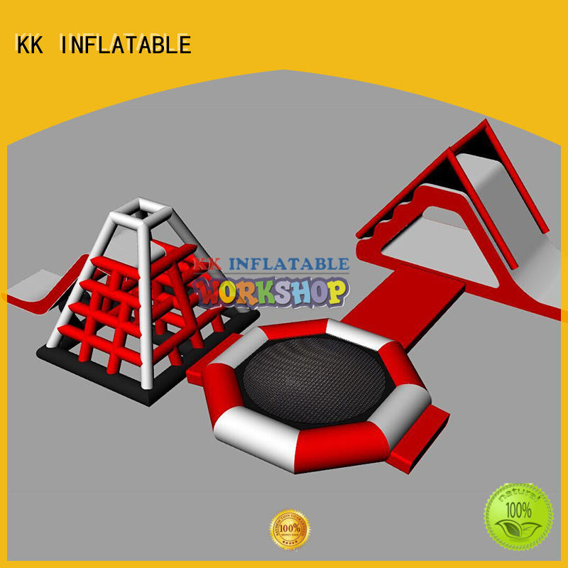 blue inflatable water parks animal modelling for beach