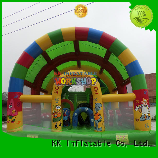 outdoor house inflatable bouncy hand KK INFLATABLE Brand company