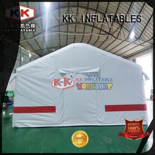 KK INFLATABLE square blow up tent manufacturer for outdoor activity