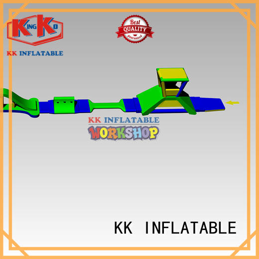 KK INFLATABLE inflatable floating water park wholesale for swimming pool
