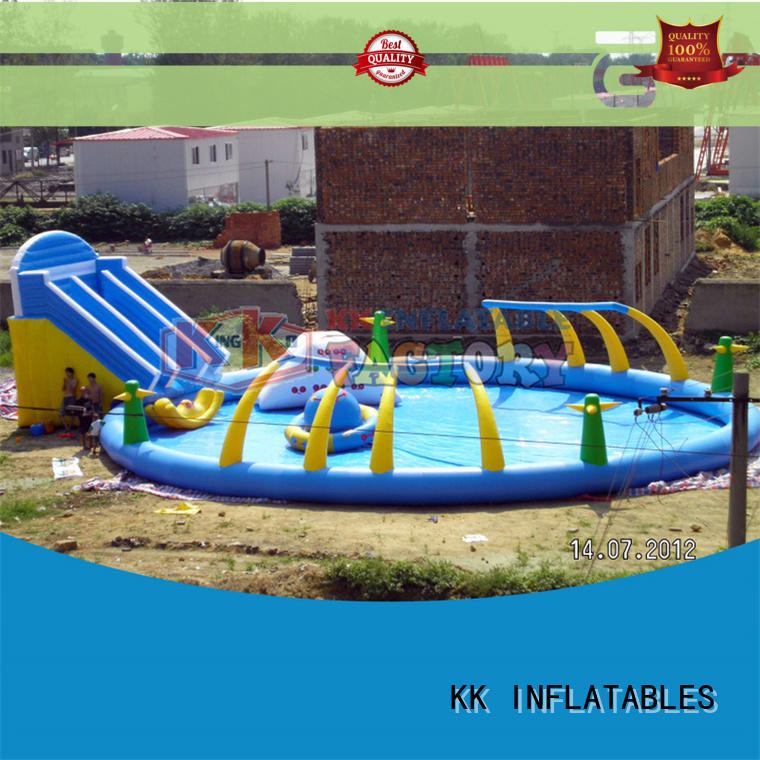 KK INFLATABLE large inflatable theme playground factory price for seaside