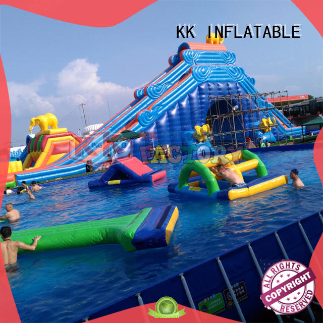 large inflatable water playground animal modelling for children