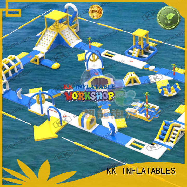 KK INFLATABLE durable inflatable water playground pvc for seaside