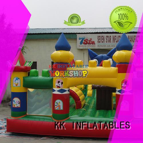 trampoline jumping castle water slide tarpaulin for paradise KK INFLATABLE