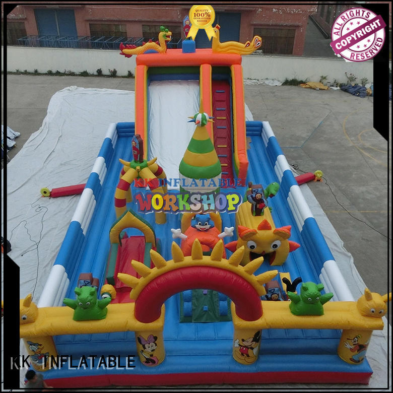 games obstacle KK INFLATABLE Brand inflatable assault course factory