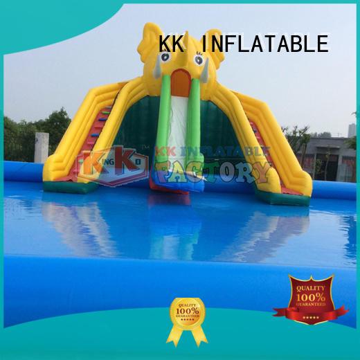 KK INFLATABLE multichannel inflatable theme park supplier for seaside