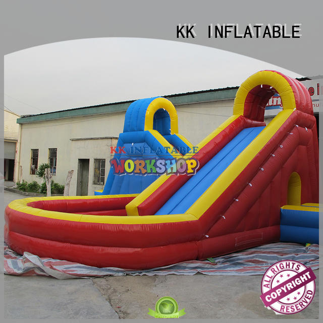 rainbow inflatable water parks factory price for amusement park KK INFLATABLE
