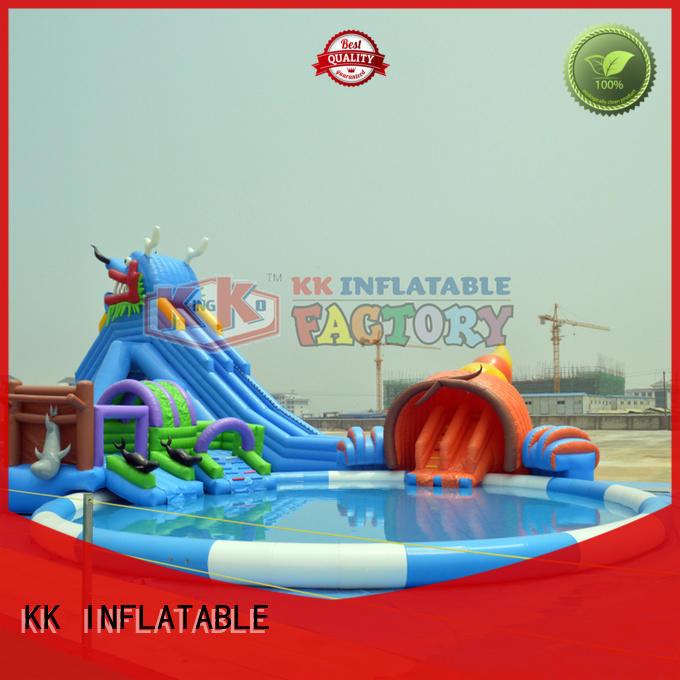 inflatable water parks dinosaur for children KK INFLATABLE