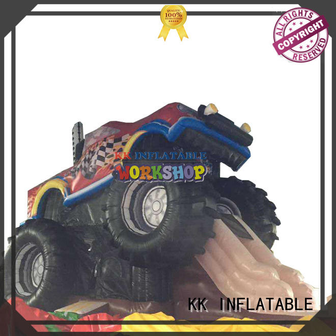 KK INFLATABLE hot selling kids water slide various styles for playground