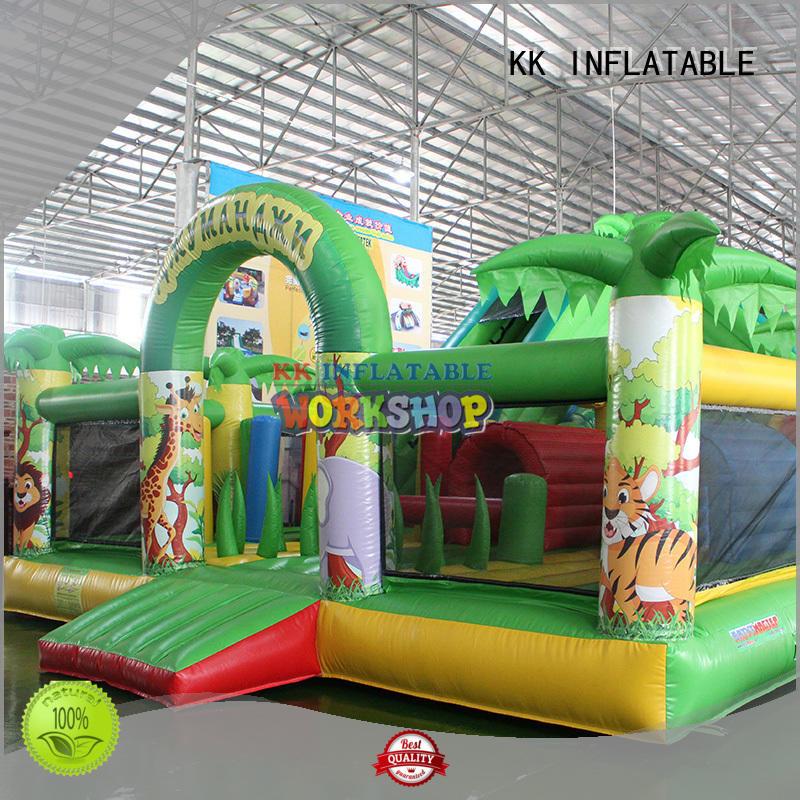 commercial bouncy castle water slide manufacturer for kids KK INFLATABLE