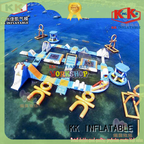 KK INFLATABLE hot selling inflatable water parks manufacturer for beach