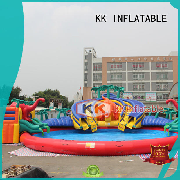 KK INFLATABLE custom inflatable water playground manufacturer for amusement park