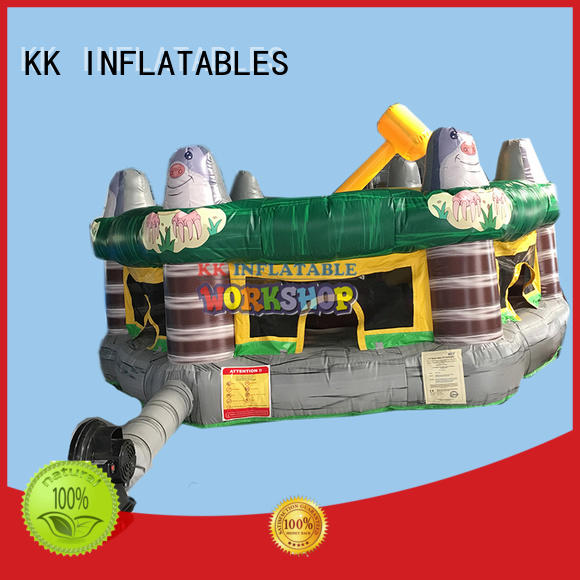 funny kids climbing wall trampoline manufacturer for entertainment
