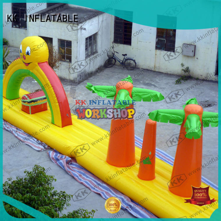 custom inflatable water playground manufacturer for children