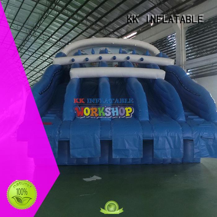 KK INFLATABLE durable kids inflatable water park cartoon for amusement park