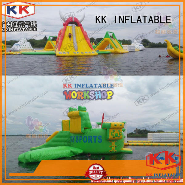 KK INFLATABLE large inflatable water playground animal modelling for children