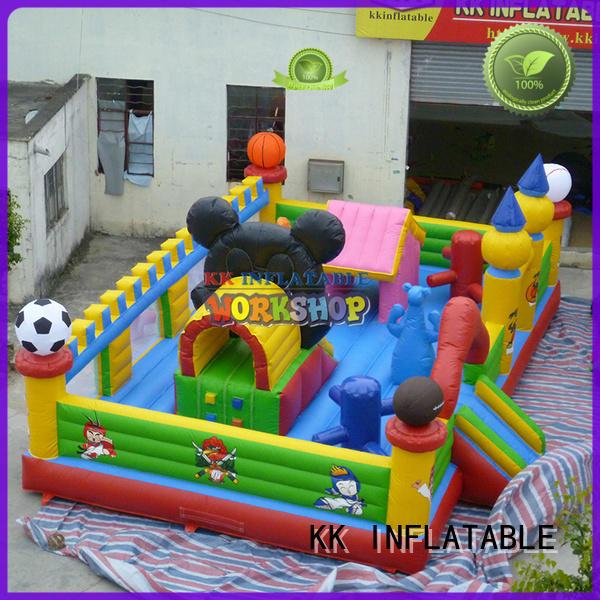 KK INFLATABLE animal shape jumping castle manufacturer for amusement park