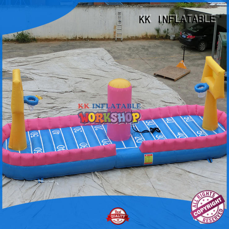 funny inflatable rock climbing wall wholesale for paradise KK INFLATABLE