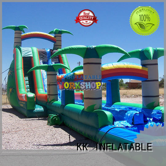 inflatable water playground cartoon for paradise KK INFLATABLE