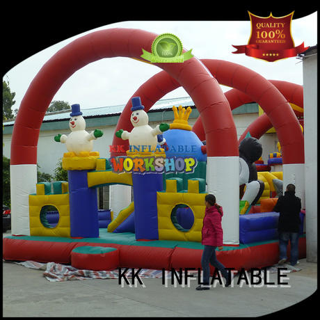 inflatable bouncy castle commercial blow jumping castle KK INFLATABLE Brand