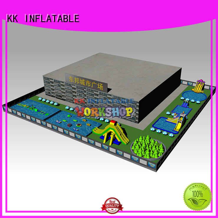 large inflatable water parks manufacturer for children