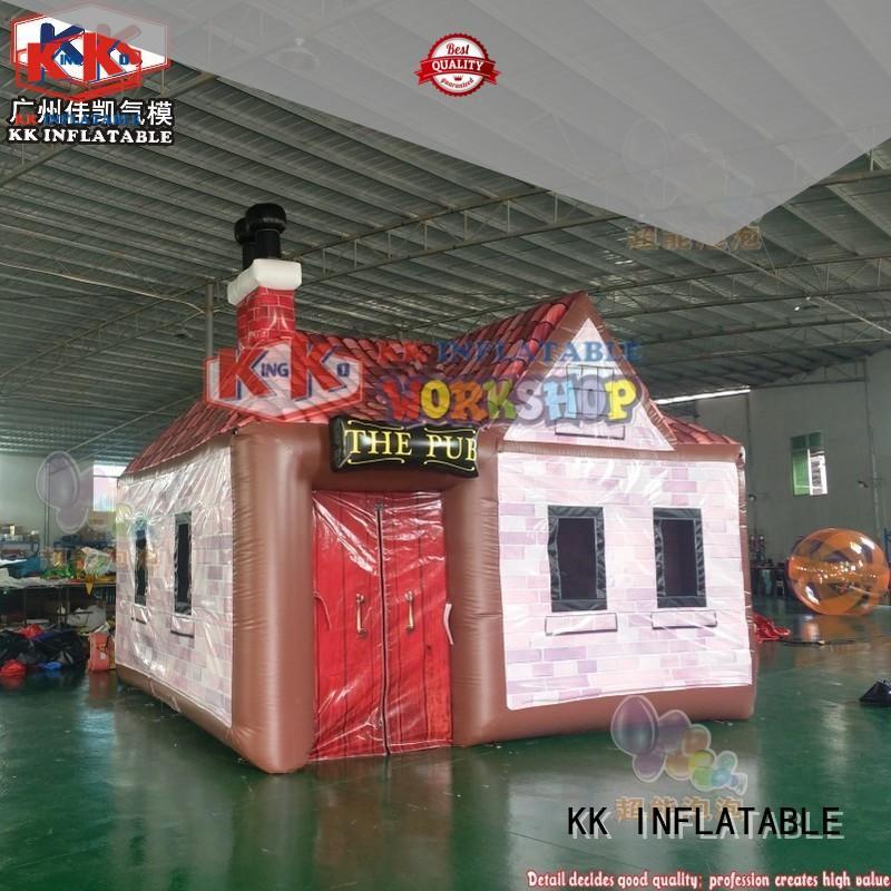 KK INFLATABLE animal model pump up tent manufacturer for Christmas