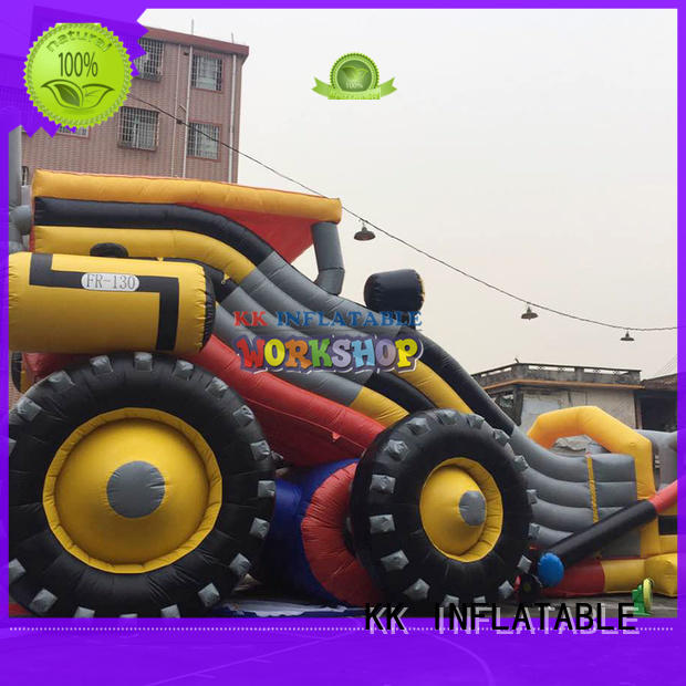 KK INFLATABLE heavy duty kids water slide various styles for paradise