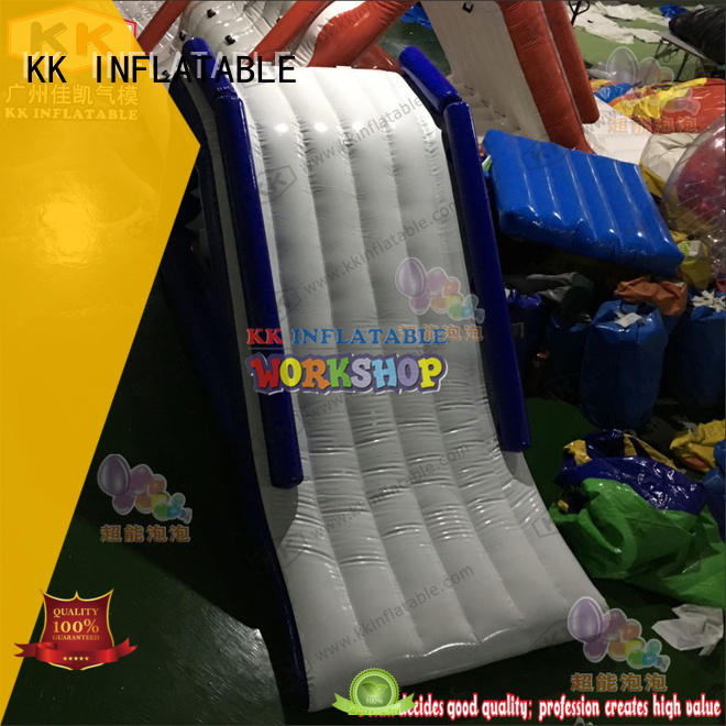 environmentally blow up water slide PVC supplier for swimming pool