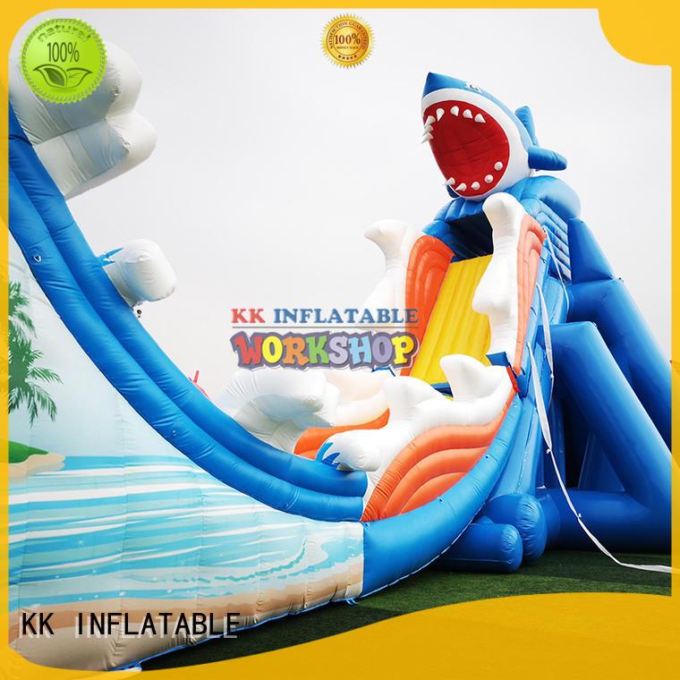 KK INFLATABLE custom inflatable theme park manufacturer for beach