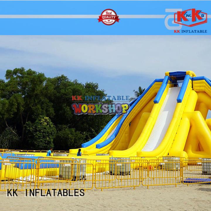 inflatable water playground dinosaur for children KK INFLATABLE