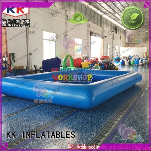 KK INFLATABLE swimming inflatable pool toys supplier
