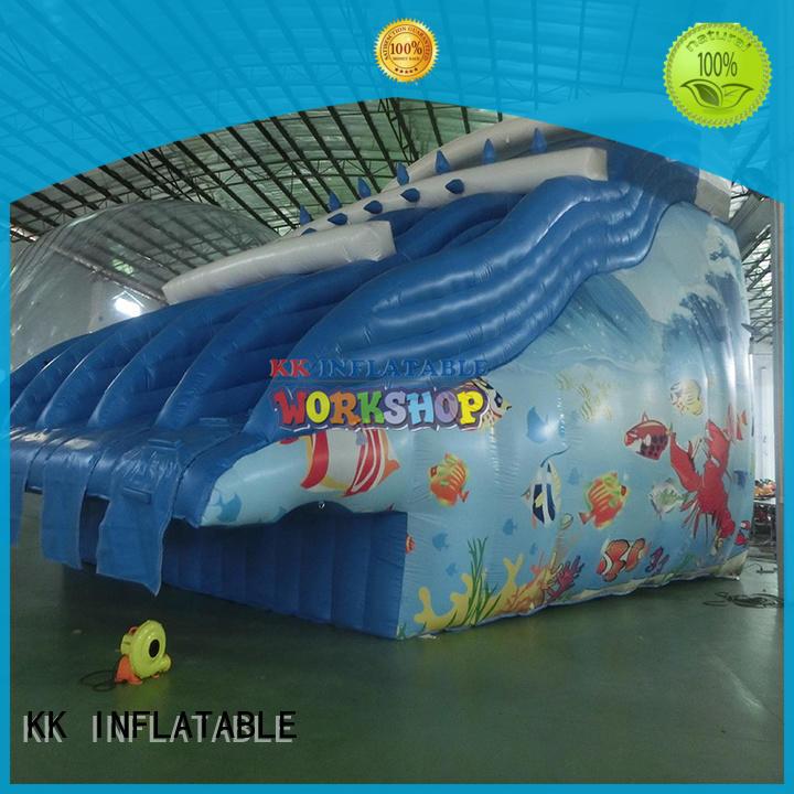 inflatable slide castle for swimming pool KK INFLATABLE