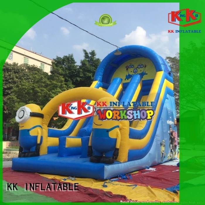 heavy duty big water slides PVC manufacturer for playground