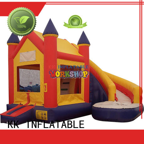 inflatable jumping castle animated cartoon for children KK INFLATABLE