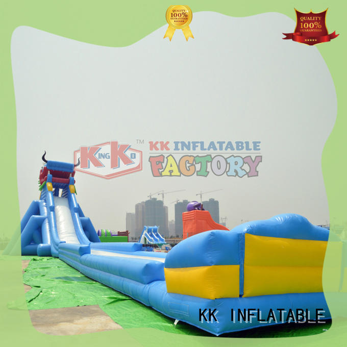inflatable water parks rainbow for beach KK INFLATABLE