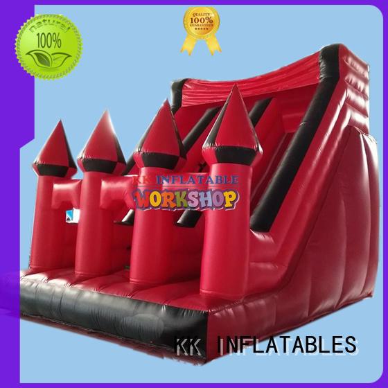 heavy duty bouncy slide truck various styles for swimming pool