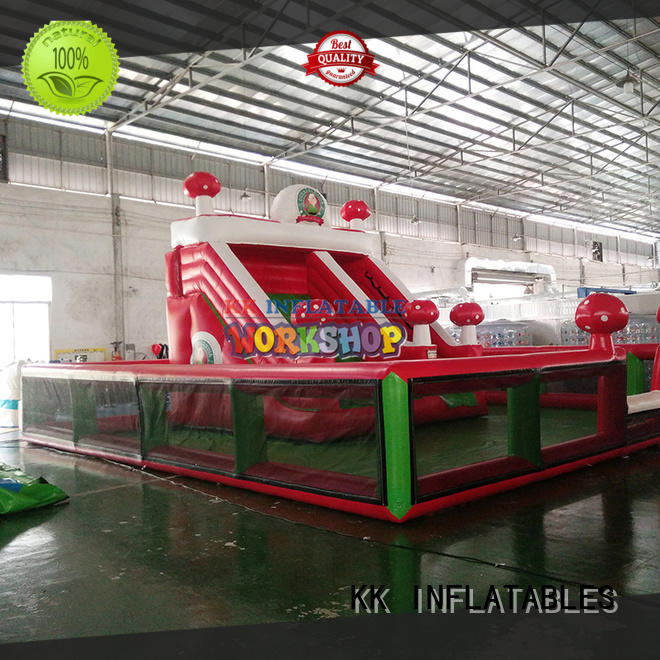 funny inflatable playground supplier for kids