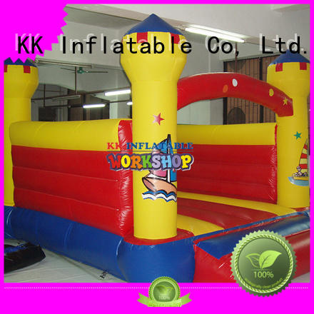 inflatable bouncy castle commercial inflatable jumping castle blow KK INFLATABLE Brand