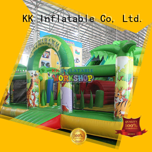 Wholesale rentals moonwalk bouncers KK INFLATABLE Brand